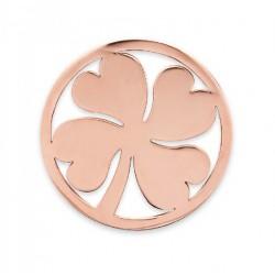 Medalla para colgante trebol de la suerte - 25500126C