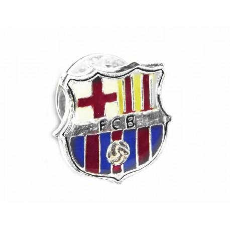Pin de plata con el escudo del Barcelona. Esta esmaltado con los colores del Club - CG/1310