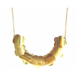 Collar de oro de 18 kl con cierre de anilla - 400696/3.6
