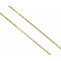 Cadena de oro de 18 kl con malla forzada de 50 cms  - F50/1.95