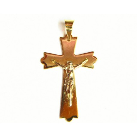 Cruz de oro de 18 kl - 441/1.30