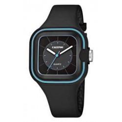 Reloj Calypso con correa de caucho negra - K5596/2