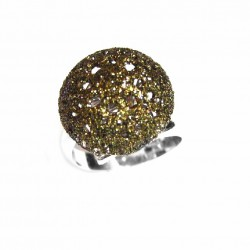 Anillo de plata Glitter - 5X-526