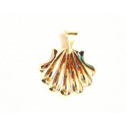 Concha de Santiago en oro de 18 kl - 46485