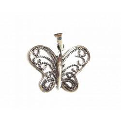 Colgante plata Mariposa con filigrana - 6X-459