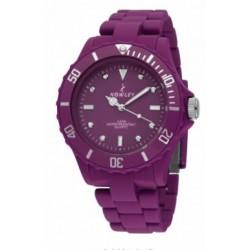 Compra aquí el reloj deportivo que estas buscando  al mejor precio. Reloj analógico con correa en color morado marc - 8-2992-0-9
