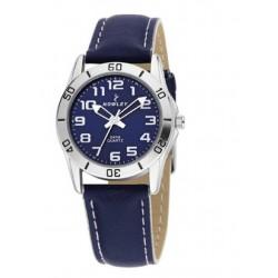 Reloj Nowley analógico con correa de piel - 8-5385-0-3