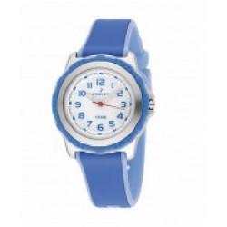 Reloj Nowley analógico con correa de caucho bicolor - 8-6195-0-3