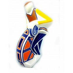 Afiador Cubista de cerámica de Galos - 8774