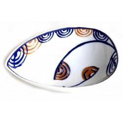 Orballo, centro hoja cerámica de Galos - 5893