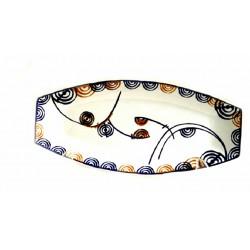 Orballo, bandeja cerámica de Galos - 5884