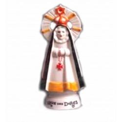 Figura cerámica Virgen dos Dolores pequeña - 8349