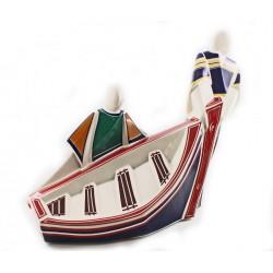 Chegada o Peirao Cubista de cerámica de Galos - 8764