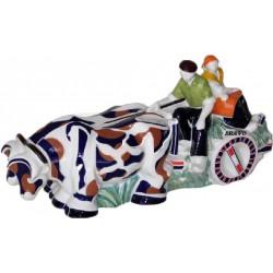 Carro de Bois de cerámica de Galos - 5868