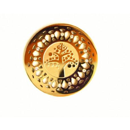 Medalla interior de acero para  colgante - 25500250D