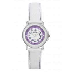 Reloj Certus con correa de piel blanca - 647375
