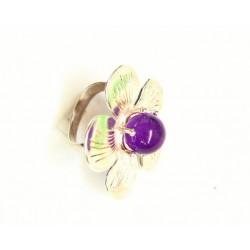 Anillo Flor en plata de ley - 0200065350