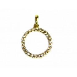 Colgante de oro de 9 kl con circonitas - 9K16488