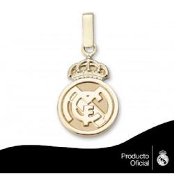 Colgante de oro de 9kl con escudo del Real Madrid - 0530-014-L