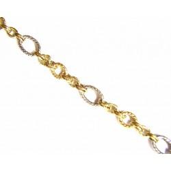 Pulsera de oro de 9 kl con cierre italiano - 9K210154/4.9