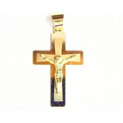 Cruz de oro de 9 kl - 9K16534