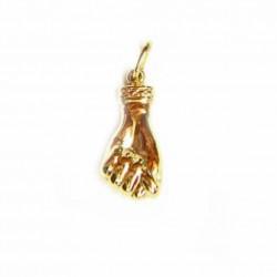 Colgante de oro de 9kl, figa - 2972