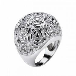 Anillo de plata de la colección Rosas  - 00502234