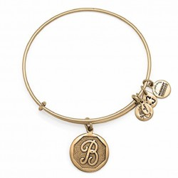 Pulsera de metal dorado de Alex and Ani - A13EB14BG