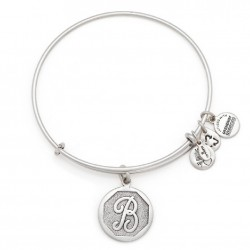 Pulsera de metal plateado de Alex and Ani - A13EB14BS