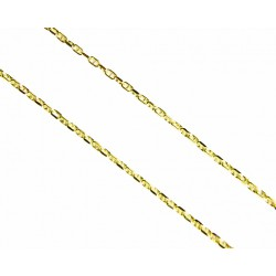 Cadena de oro de 9kl con malla de ancla en 45cm de largo y cierre de anilla - 9K270745/2