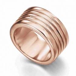 Anillo de plata recubierto de oro rosé de 18 kl de Le Carré - LA036RS.17