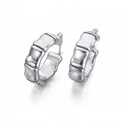 Pendientes aro de plata de Le Carré - LB011RO.00