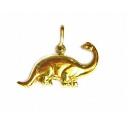 Colgante dinosaurio de oro de 18 kl.  - 40019