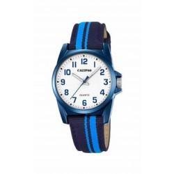 Reloj analógico para cadete de Calypso con correa de piel bicolor - K5707/6
