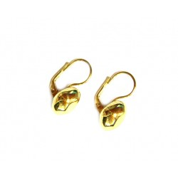 Pendientes de plata dorada - A-14374-G-A