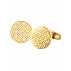 Gemelos de acero dorado de Tommy Hilfiger - 2700659