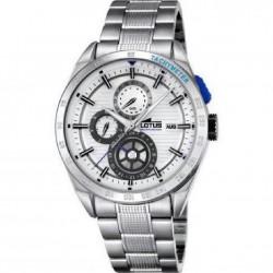 Reloj cronómetro para caballlero con caja de acero y armis - 18244/1