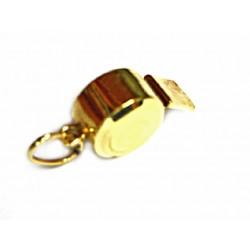 Colgante silbato de oro de 18 kl - 7211/0.9