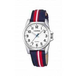 Reloj analógico para cadete de Calypso con correa de piel bicolor - K5707/3