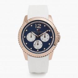 Reloj multifuncion  de pulsera para mujer  de Tommy Hilfiger con esfera azul - 1781582