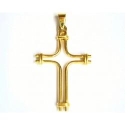 Cruz de oro de 18 kl - 1214861-D/3.20