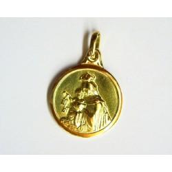 Medalla  oro  Escapulario -...