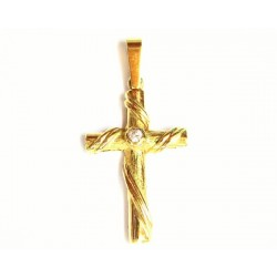 Cruz de oro de 18 quilates...