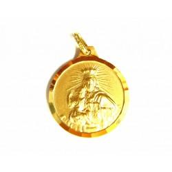 Medalla escapulario de oro...