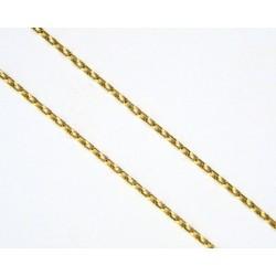 Cadena de oro de 18 kl con...
