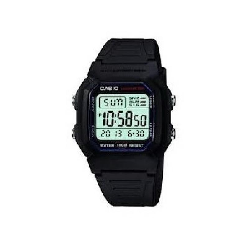 Correa De Reloj Negra Digital Casio Con Caucho Yyfmb6I7gv