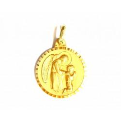 Medalla de oro  con Angel...