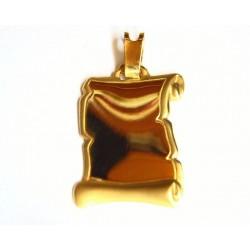 Colgante oro Pergamino -24528