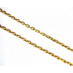 Cadena oro de malla forzada...