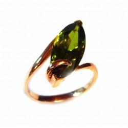 Anillo oro con olivina. 687507
